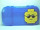 Gear No: 499235  Name: Minifigures Storage Case with Sunglasses Minifigure Head Pattern