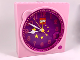 Gear No: clk10  Name: Clock Unit, Belville Stars Pattern (Gear 7398 / 4168037)
