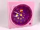 Gear No: clk10  Name: Clock Unit, Belville Stars Pattern (Gear 7398 / 4168037)