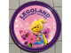 Gear No: pin138  Name: Pin, Legoland Discovery Center Butterfly Girl 2 Piece Badge