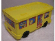 Gear No: 4112776pb03  Name: Duplo Storage Bin Large with Wheels with Animal Bus Stickers - Set 2580