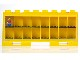 Gear No: 752437  Name: Minifigure Display Case, Large - For 16 Minifigures, 1 Door