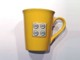 Gear No: 850424  Name: Food - Cup / Mug, Raised 2 x 2 Plate Relief on Side, White Interior