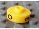 Gear No: bead001pb52  Name: Bead, Cylinder Short, Flat Edge with Black O 3 C Pattern
