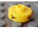 Gear No: bead001pb53  Name: Bead, Cylinder Short, Flat Edge with Black Y 4 G Pattern
