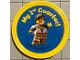 Gear No: pin157  Name: Pin, My 1st Coaster! 2 Piece Badge
