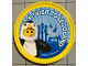 Gear No: pin158  Name: Pin, 1st Visit To Legoland 2 Piece Badge