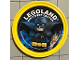 Gear No: pin161  Name: Pin, Legoland Discovery Center Batman 2 Piece Badge