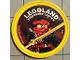 Gear No: pin214  Name: Pin, Legoland Discovery Center Ninjago Kai 2 Piece Badge