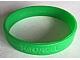 Gear No: 6008110  Name: Wristband, Rubber, Bright Green, Ninjago