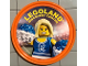 Gear No: pin137  Name: Pin, Legoland Discovery Center Cheerleader 2 Piece Badge