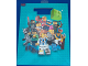 Gear No: 5017690840675  Name: Gift Bag, Collectible Minifigures Pattern