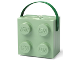 Gear No: 57119380230490  Name: Lunch Box, Brick 2 x 2 with Handle, Sand Green