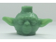 Gear No: bead036  Name: Bead, Minifig Style Head Modified SW Yoda