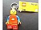 Gear No: 12853  Name: LED Key Light Minifigure Key Chain