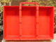 Gear No: 2746  Name: Storage Bin with Handle and Slots for Nine Compartments