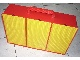Gear No: 2746c02  Name: Storage Bin with Handle and Nine Compartments with Yellow Baseplate Covers