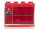 Gear No: 752453  Name: Minifigure Display Case, Small - For 8 Minifigures