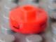 Gear No: bead001pb44  Name: Bead, Cylinder Short, Flat Edge with Black L 1 H Pattern