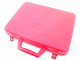 Gear No: case16  Name: Storage Case with Handle and Rivet Snap Fasteners (Empty)
