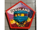 Gear No: pin134  Name: Pin, Legoland Ninjago Nya 2 Piece Badge, Pentagonal