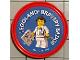 Gear No: pin139  Name: Pin, Legoland Bravery Badge 2 Piece Badge
