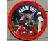 Gear No: pin187  Name: Pin, Legoland Wolf Guy 2 Piece Badge