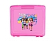Gear No: 499379  Name: Project Case Friends 'Beauty of Building', Trans Dark Pink (includes 32 x 32 Baseplate)
