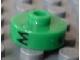 Gear No: bead001pb31  Name: Bead, Cylinder Short, Flat Edge with Black M 5 Q Pattern