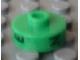 Gear No: bead001pb33  Name: Bead, Cylinder Short, Flat Edge with Black E N B Pattern