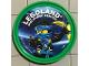 Gear No: pin146  Name: Pin, Legoland Discovery Center Ninjago Jay 2 Piece Badge