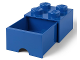 Gear No: 4005  Name: Storage Brick 2 x 2 with Drawer (Cut on Bottom)