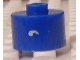 Gear No: bead029pb051  Name: Bead, Cylinder, Flat Edge with White ''' Pattern