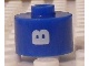 Gear No: bead029pb054  Name: Bead, Cylinder, Flat Edge with White 'B' Pattern
