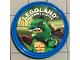 Gear No: pin140  Name: Pin, Legoland Discovery Center Lizard Man 2 Piece Badge