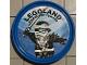 Gear No: pin191  Name: Pin, Legoland Discovery Center Ninjago Zane 2 Piece Badge