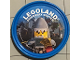 Gear No: pin198  Name: Pin, Legoland Discovery Center Shark Army General 2 Piece Badge