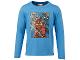 Gear No: tony618  Name: T-Shirt, Ninjago Kai, Jay, Titanium Zane Boys Long Sleeve (Tony 618)