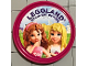Gear No: pin142  Name: Pin, Legoland Discovery Center Friends 2 Piece Badge