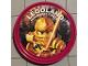 Gear No: pin200  Name: Pin, Legoland Discovery Center Ninjago Golden Ninja 2 Piece Badge