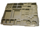 Gear No: 4181890  Name: Dacta Sorting Tray - 36 Compartment (Fits with bin03)