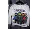 Gear No: 0502136002  Name: T-Shirt, The LEGO Ninjago Movie Long Sleeve, Zane, Jay, Lloyd, Kai and Nya