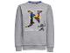Gear No: skeet709  Name: Sweatshirt, Ninjago 'MASTERS OF SPINJITZU' and 'N' Pattern Boys (Skeet 709)