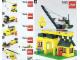 Instruction No: 1053  Name: Community Buildings (LEGO Basic School Set)