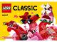 Instruction No: 10707  Name: Red Creativity Box