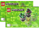 Instruction No: 21102  Name: Minecraft Micro World (LEGO Ideas) - The Forest