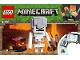 Instruction No: 21150  Name: Minecraft Skeleton BigFig with Magma Cube
