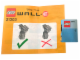 Instruction No: 21303sup  Name: Supplemental Pack for WALL•E Set 21303