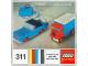 Instruction No: 311  Name: Remote Control Car/Truck Set