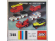 Instruction No: 348  Name: Mini-Wheel Car and Truck Set